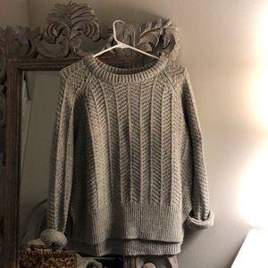 Light Gray Knit Sweater